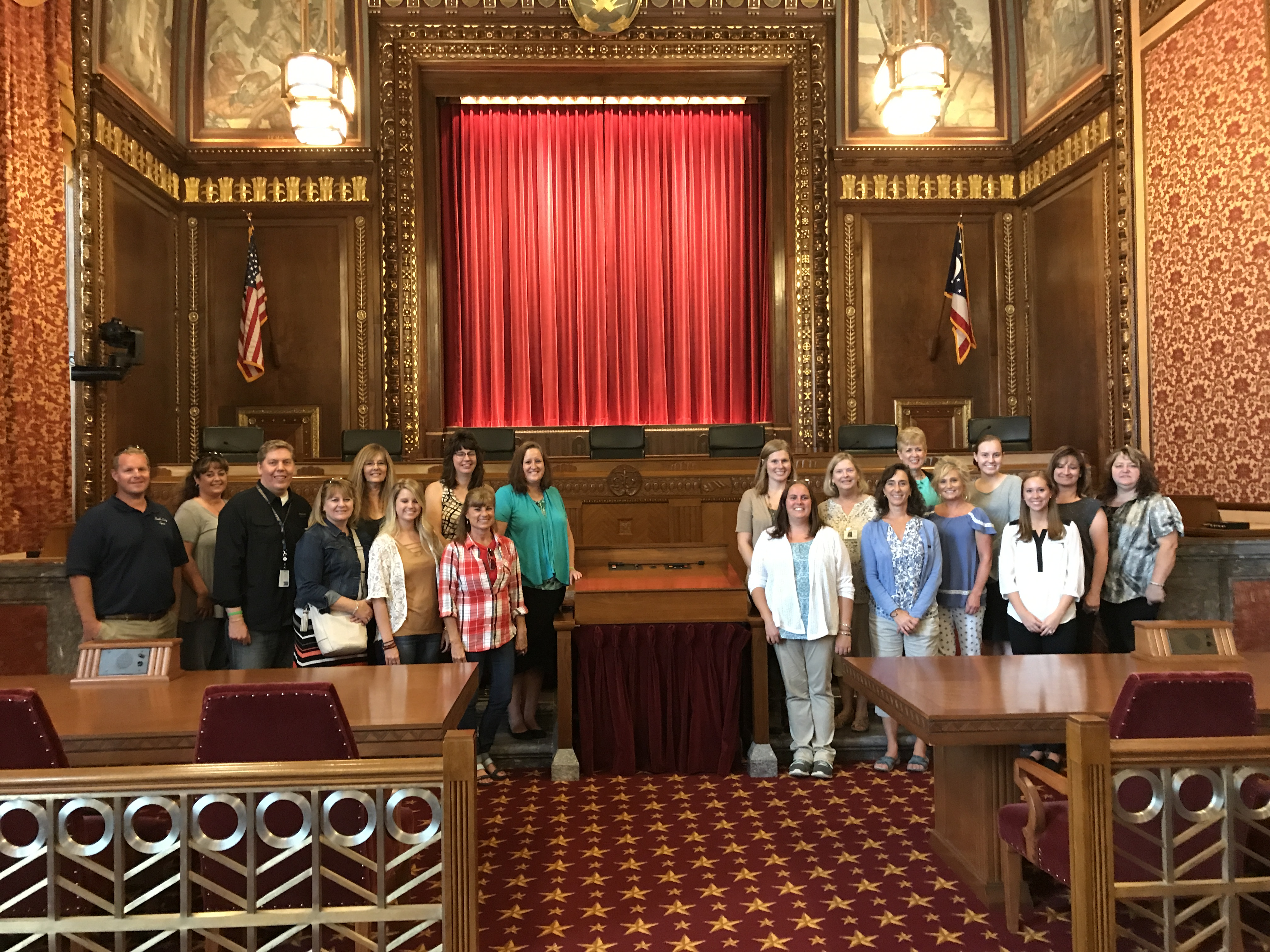 CCC-EAPA visits Ohio Supreme Court